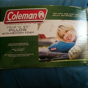 Coleman Memory Foam Pillow Travel Camp